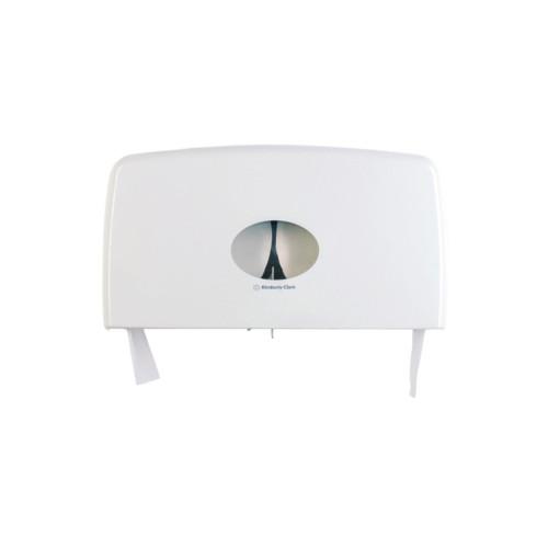 Kimberly Clark Aquarius Bath Tissue Twin Jumbo Roll Dispenser (70210) Kimberly Clark Professional