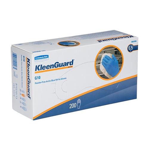 Kleenguard G10 Arctic Blue Nitrile Gloves Small 200 Gloves (90096) Kimberly Clark Professional