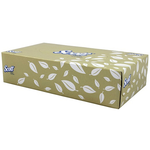 Scott Facial Tissues 2 Ply 48 Packs x 100 Sheets (4725) Kimberly Clark Products
