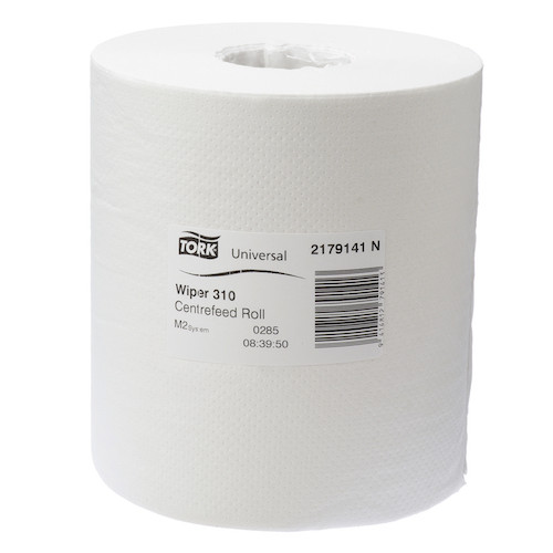 Tork® Basic Paper 1ply Centerfeed Roll M2 White 4 Rolls (2179141) Tork Products