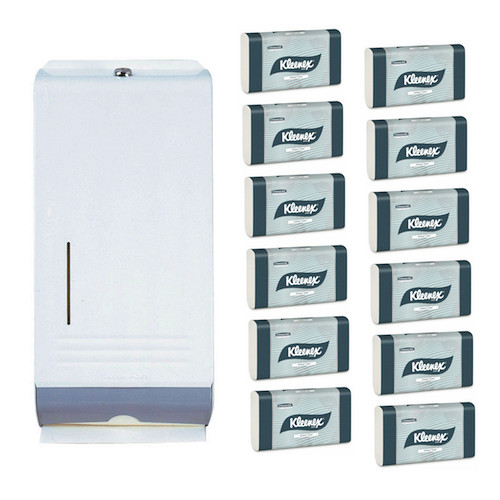 Kimberly Clark Compact Towel White Metal Starter Pack (4440 4969) Kimberly Clark Professional