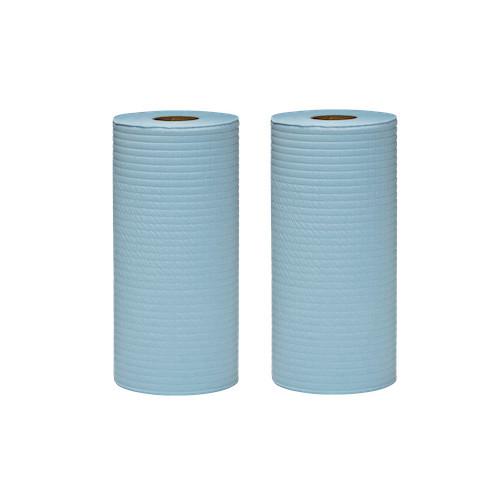 WYPALL X50 Small Roll Wipers Blue 2 Rolls 24.5cm x 70m (KC4194)