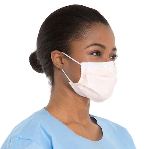 Halyard FLUIDSHIELD Level 3 Fog-Free Procedure Mask 40/bx (HAL47107)