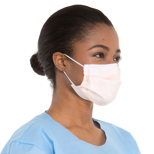 Halyard FLUIDSHIELD Level 3 Fog-Free Procedure Mask 400/case (47107) Formerly Kimberly Clark Health Care