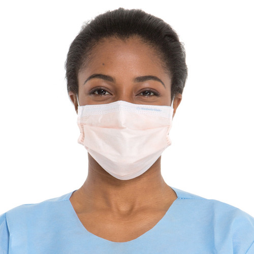 Kimberly Clark FLUIDSHIELD Level 3 Fog-Free Procedure Mask 400/case (47107) Halyard Health