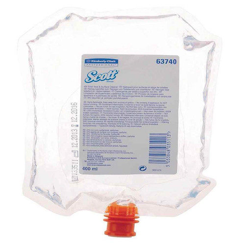 Scott® Toilet Seat & Surface Cleanser 6 Refills x 400ml (63740)