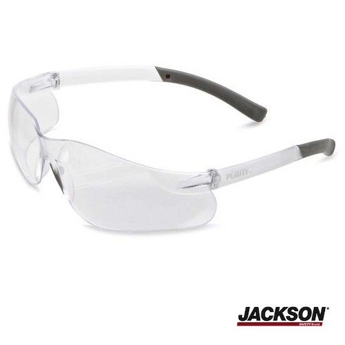 JACKSON SAFETY V20 PURITY Safety Eyewear Clear Lens 1 Pair (KC25654) Kimberly Clark Safety Glasses | Kimberly Clark Professional