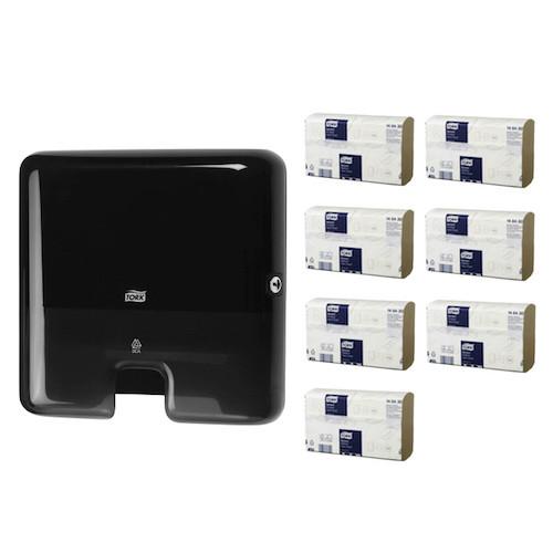 Tork Xpress Multifold Mini Starter Pack H2 Black (148430 552138) Tork Products