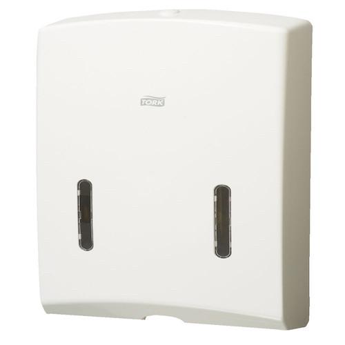 Tork Ultraslim Multifold Mini Hand Towel Dispenser H4 White (2320729) | Tork Products H4 System New design