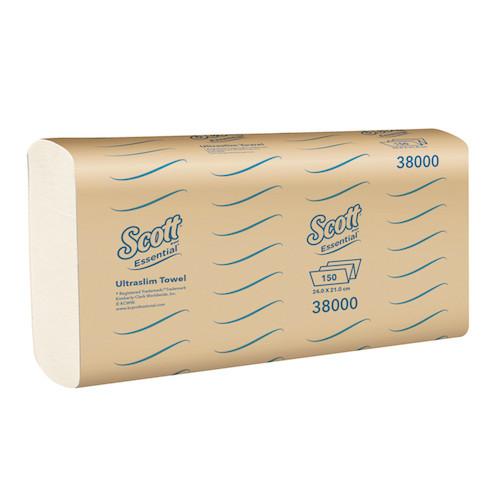 Scott Essential Ultraslim Optimum Hand Towel 16 x 150 Towels (38000) Kimberly Clark Professional