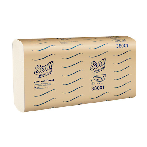 Scott Essential Compact Hand Towel 16 x 110 Towels (38001) Kimberly Clark Professional