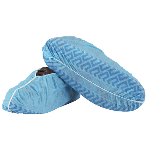 Medicom Shoe Covers Non-Skid Regular Blue 300/carton