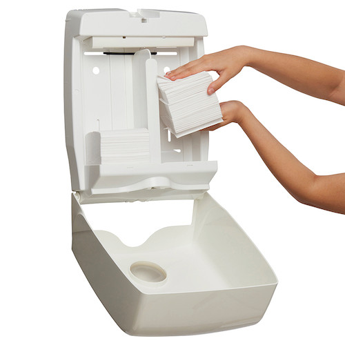 Kimberly Clark Toilet Tissue Double Dispenser White (69900) | Kimberly Clark Professional