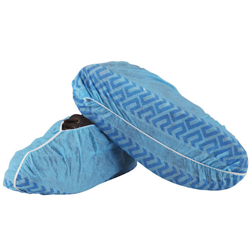 Medicom Shoe Covers Non-Skid Regular Blue 100/box