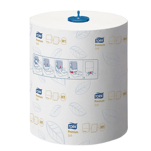 Tork Matic Extra Soft Hand Towel Roll H1 System 6 Rolls (290016) Tork Products