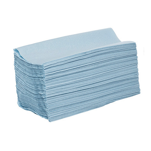 Wypall L30 Blue Single Sheet Wipers 3Ply 75 Wipers x 10 Packs (94186)