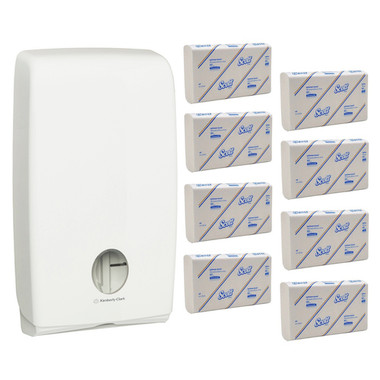 Scott Interleaved Optimum Hand Towel Starter Pack 4457