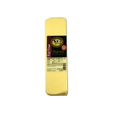 1235 5 Pound  Lifetime Fat Free Mozzarella Cheese Loaf