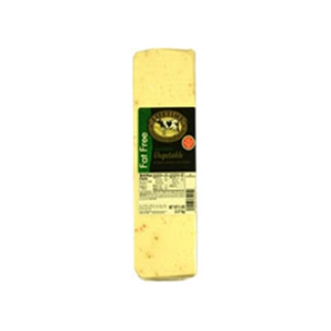 1232 5 Pound Lifetime Fat Free Garden Vegetable Cheese Loaf