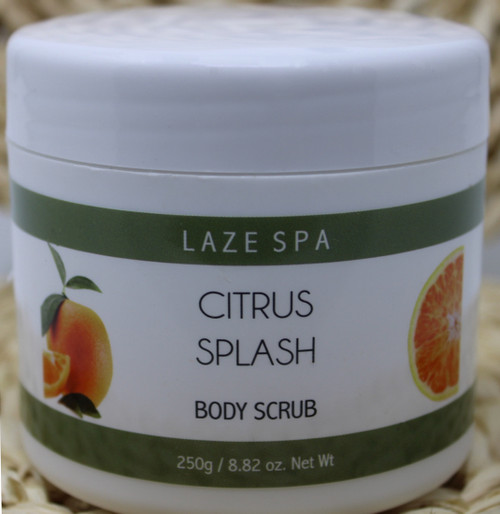 LS102 8.82oz Citrus Body Scrub $7.49