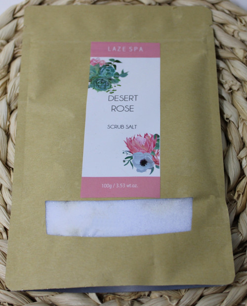 LS203 3.53oz Desert Rose Scrub Salt $4.20 each