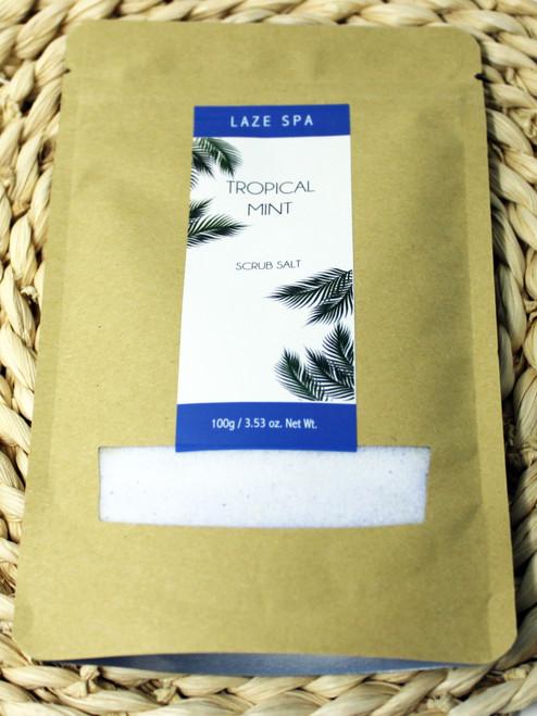 LS303 3.53oz Tropical Mint Scrub Salt $4.20 each