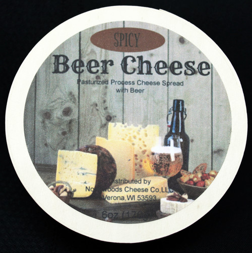 1141 6oz Spicy Beer Cheese Spread Hoop
