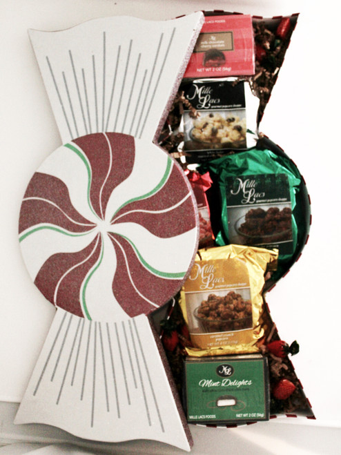 ML7025B Peppermint Candy Box  Gift  3/cs  $18.00 each $54.00/cs