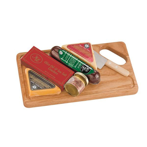 """ML7105 A Cut Above 6/cs $11.35 each  $68.10/cs Gift Includes: *Pepper Cheese Wedge  