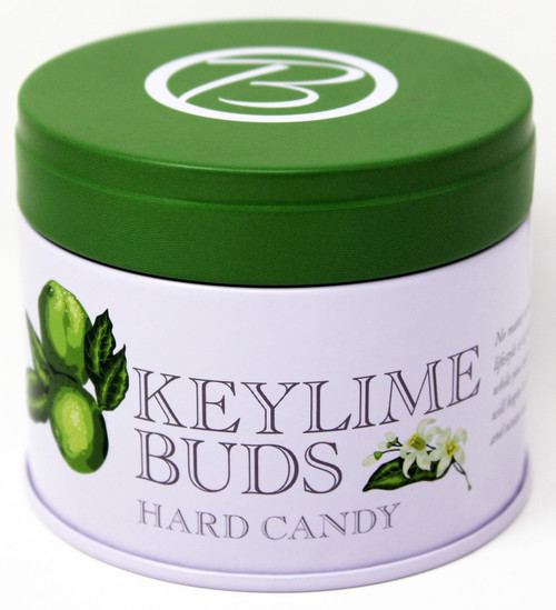 BF005 Butterfields Key Lime Buds Tin 3.5oz  Gluten Free, 100% Dairy Free, Pure Cane Sugar, Old Fashioned Candy We are the producer of 100% dairy free, gluten free, pure cane sugar Candy Buds located in Nashville, North Carolina. Our company makes handcrafted, old fashioned candy the same way it was done back in 1924. At Butterfields Candy Company, we proudly manufacture and package all of our products in the United States of America.