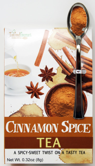 8717 .32oz Cinnamon Spice Tea Too Good Gourmet