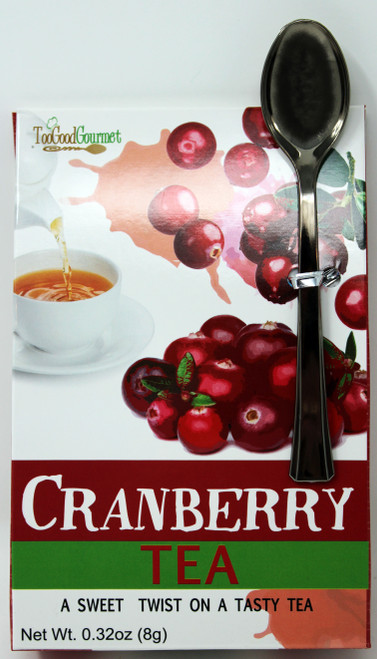 8718 .32oz Cranberry Tea Too Good Gourmet