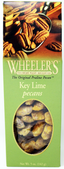 2613 5oz Key Lime Pecans Wheeler's  These key lime pecans for a fruity gourmet pecan sensation!