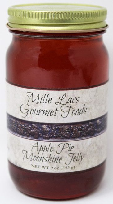 ML002 9oz Apple Pie Moonshine Jelly Mille Lacs Label