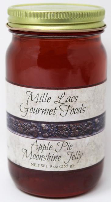 ML002 9oz Apple Pie Moonshine Jelly Mille Lacs Label
