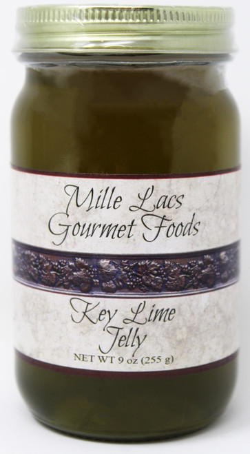 ML007 9oz Key Lime Jelly Mille Lacs Label