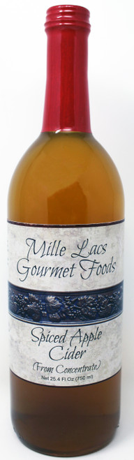 ML100 25.4oz Spiced Apple Cider Mille Lacs Label