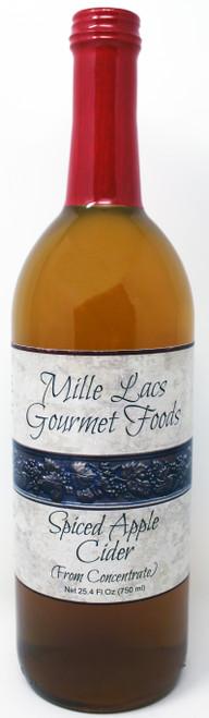 ML100 25.4oz Spiced Apple Cider Mille Lacs Label
