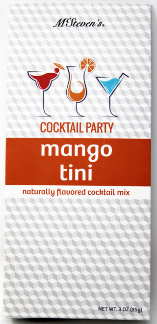 2543 3oz Mango Tini Cocktail Party Mix  Having a party or just need a little pick me up after a long day? We've got you covered! Two servings per box.