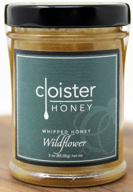 CH026 3oz Wildflower Whipped Honey Cloister This delectable honey has a smooth, almost buttery, feel and is a perfect complement to its liquid honey twin. Coffee and/or tea sweetener Hot Oatmeal Biscuits, toast Peanut butter sandwiches Smoothies
