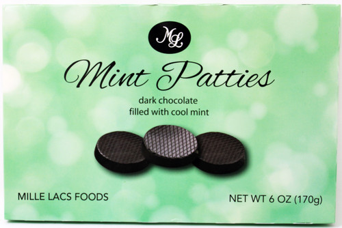 ML48640 6oz Dark Chocolate Mint Delights