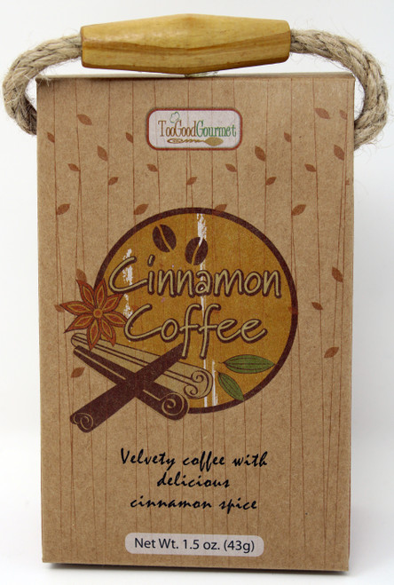 Too Good Gourmet Cinnamon Coffee Wood Land Design, Gourmet Coffee, Gift Basket Designs, Gifting