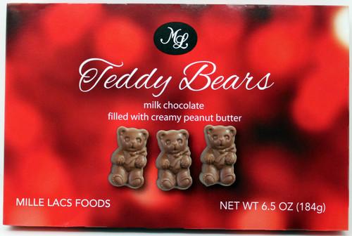 ML48215 6.50 oz Chocolate Peanut Bears $4.99 each.  ON SALE NOW $1.25
