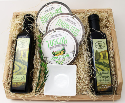ML7182 Mille Lacs Italian Bread Dipping Oil and Vinegar Gift