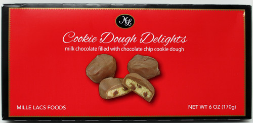 ML48646 6oz Chocolate Cookie Dough Delights Best By Date: 05/02/22 Kosher