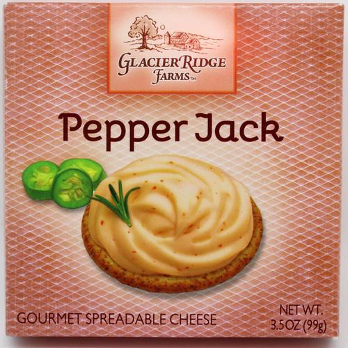 9208 3.5oz Glacier Ridge Pepper Spread Box, shelf stable, no refrigeration needed