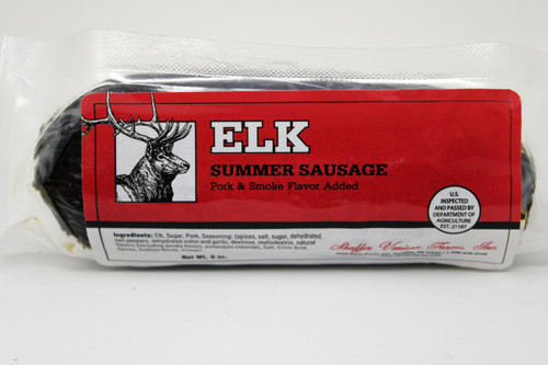 5090 6oz Elk Summer Sausage