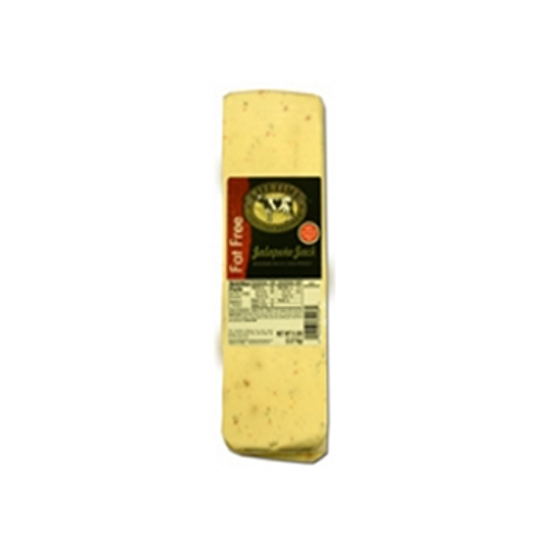 1236 5# Lifetime Fat Free Jalapeno Jack Cheese Loaf