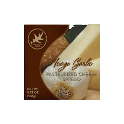 1131 3.75oz Asiago Garlic Cheese Spread Box