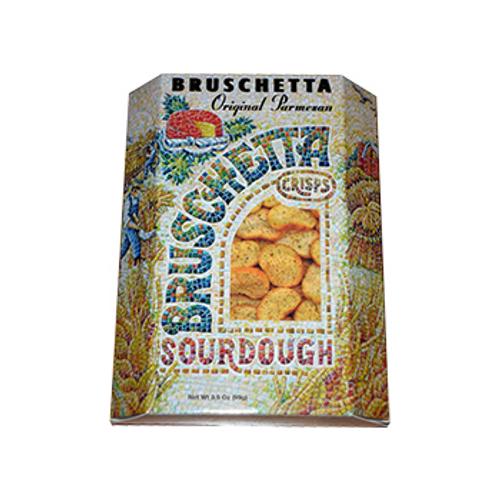 3044 3 oz Bruschetta Sourdough Crisps
